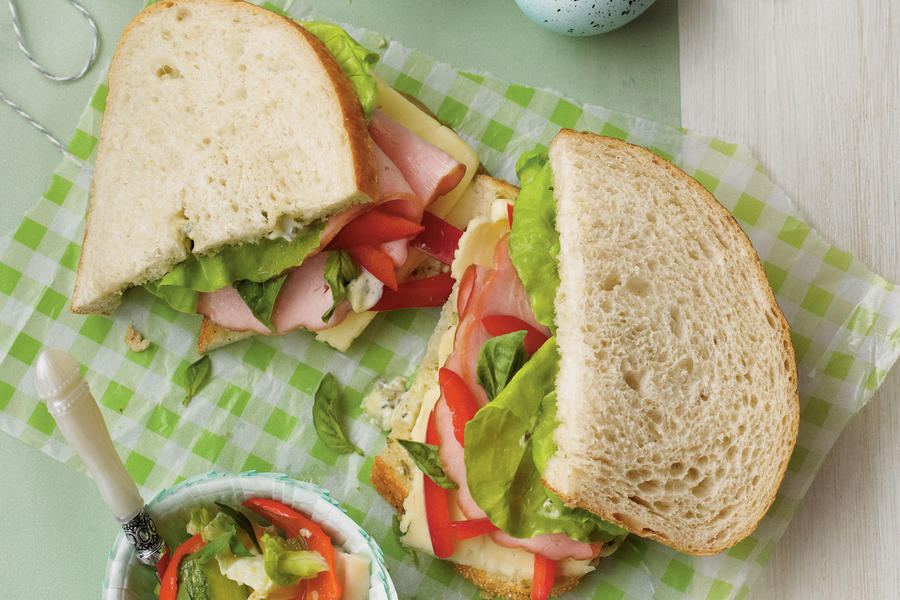 Menu: Sandwiches and Sides