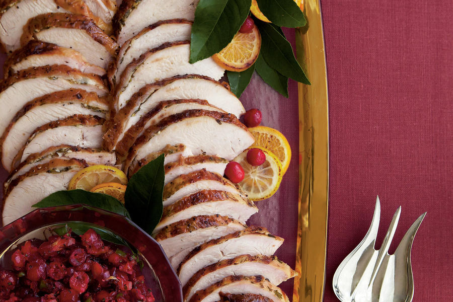Citrus-Grilled Turkey Breast