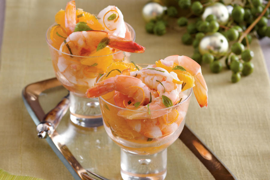Shrimp and Citrus Cocktail Recipe