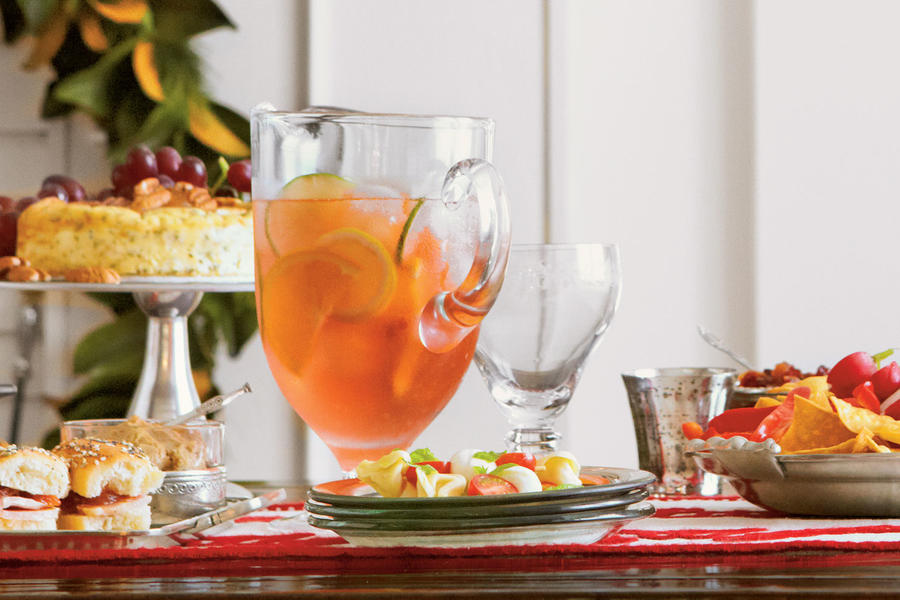 citrus sangria 16 43 recipe citrus sangria a big batch party punch ...