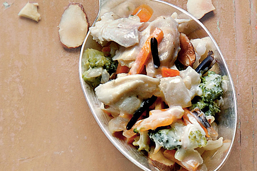 Chicken-and-Rice Bake