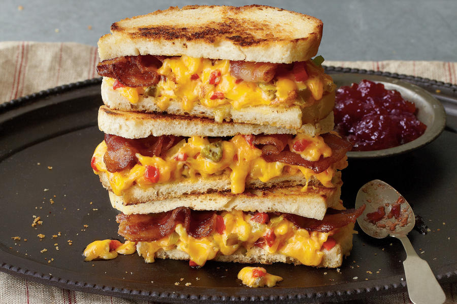 """""""Some Like It Hot"""" Pimiento Cheese Sandwich"""