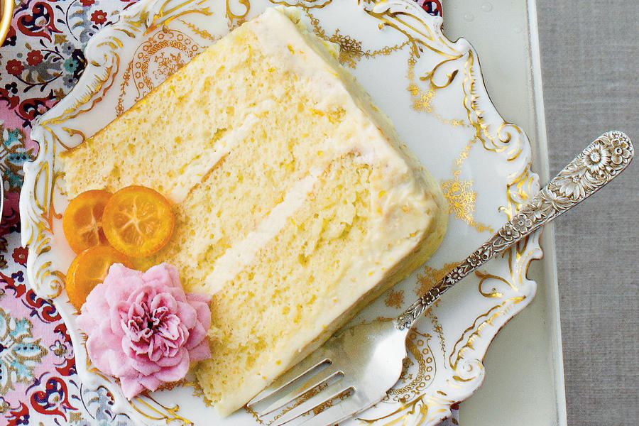 Lemon-Orange Chiffon Cake Recipe