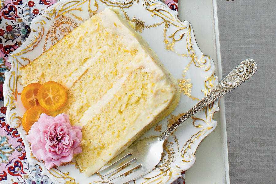 Spring Dessert: Lemon-Orange Chiffon Cake Recipe