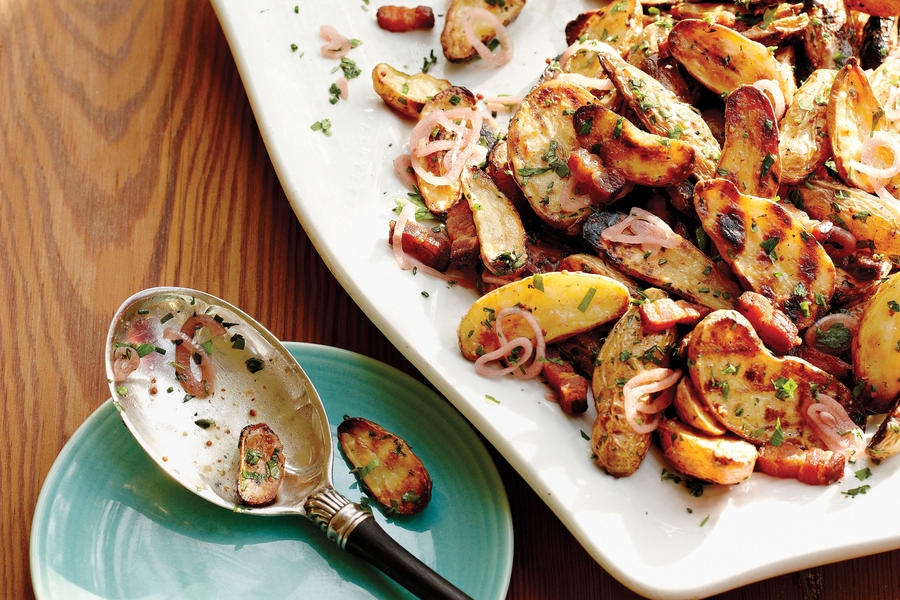 Grilled Fingerling Potato Salad