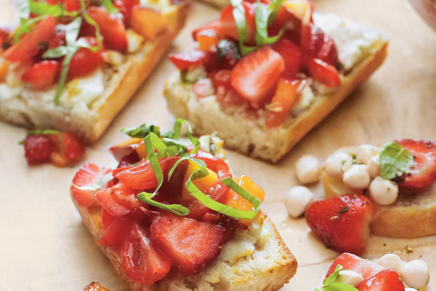 Strawberry Bruschetta Recipe