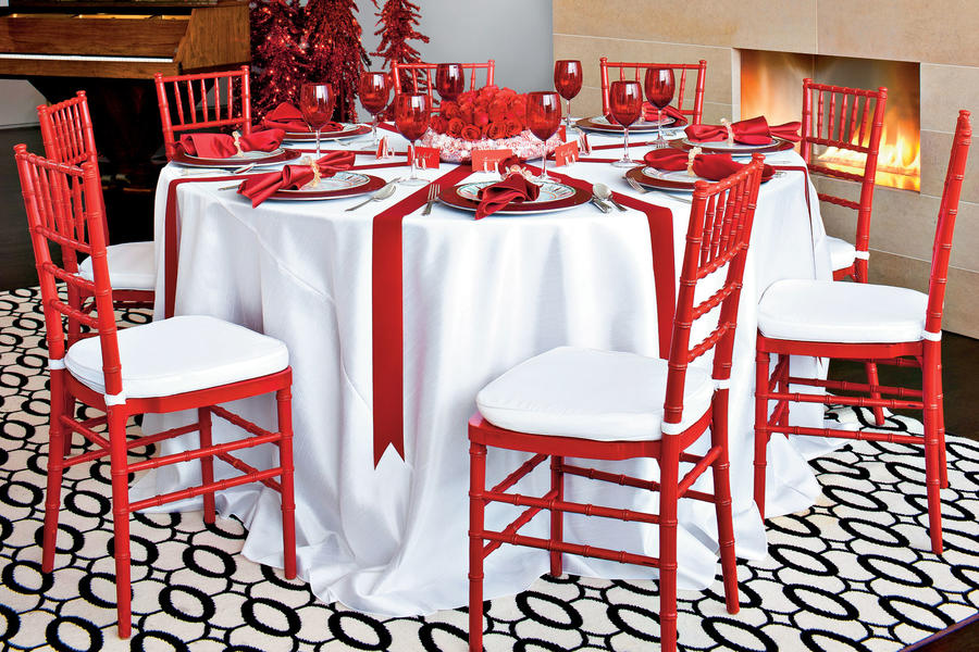 Get Big Impact with Red and White