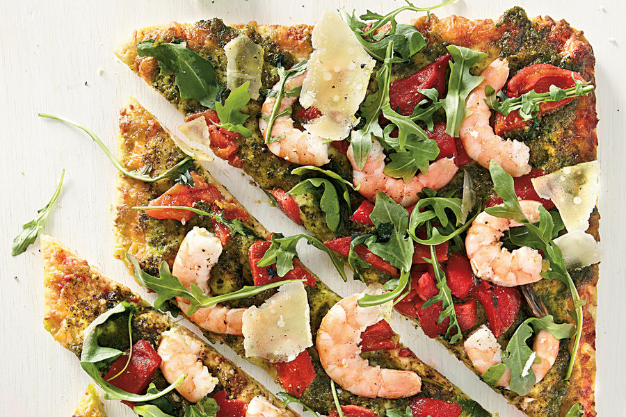Shrimp Pizza Recipe