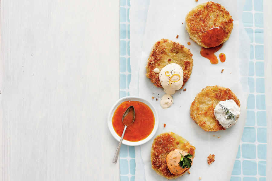 Lighten Up Fried Green Tomatoes
