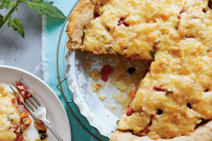 Just Ripe for Summer: Old Fashioned Tomato Pie