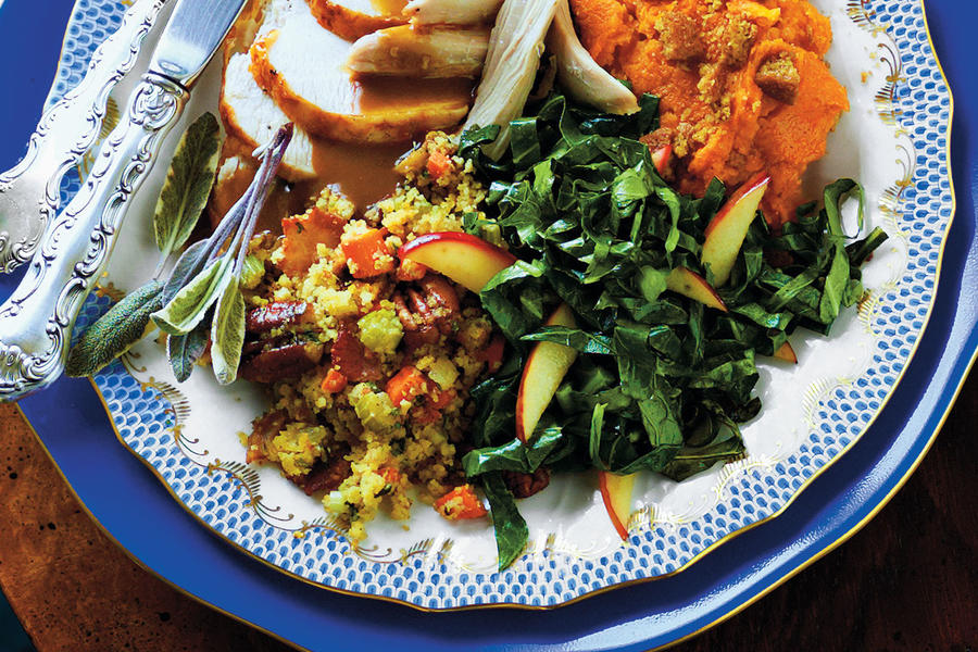 Fried Collards and Apples