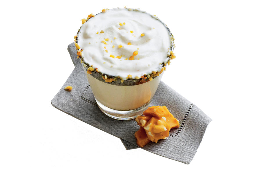 Peanut Brittle Milk Punch