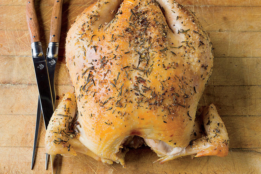 How To Carve a Chicken: Step 1