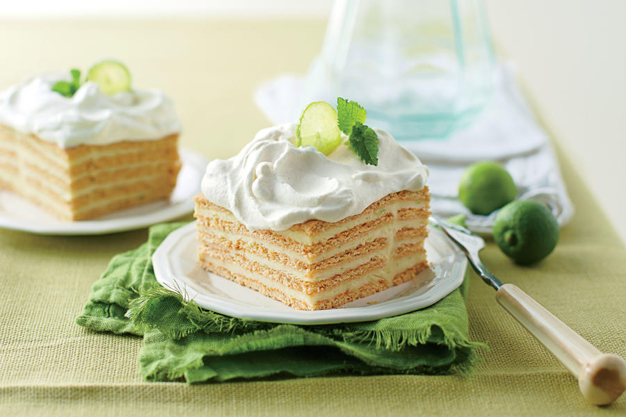 Key Lime Icebox Cake