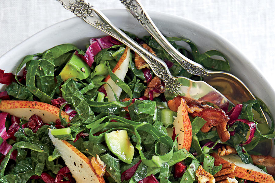 Kale-and-Collards Salad