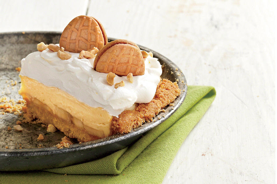 Peanut Butter-Banana Cream Pie Recipe