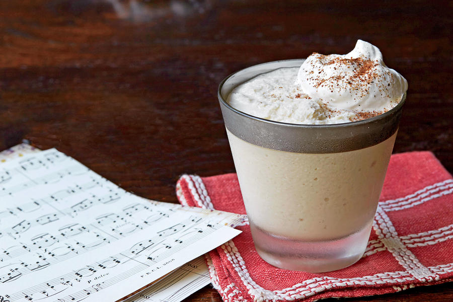 Cane Syrup Milk Punch