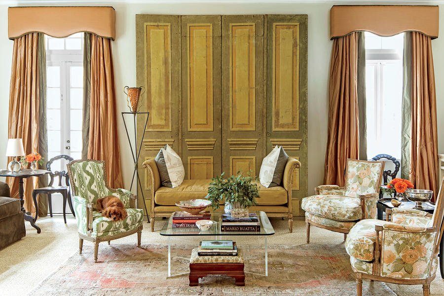 The Living Room Classically Elegant New Orleans Home Southern Living