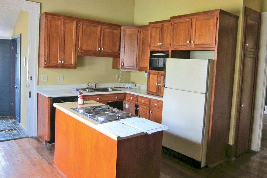 John Currence Kitchen Before