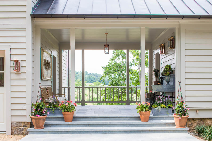 Potting shed 2015 idea house photo tour southern living for Breezeway screen room