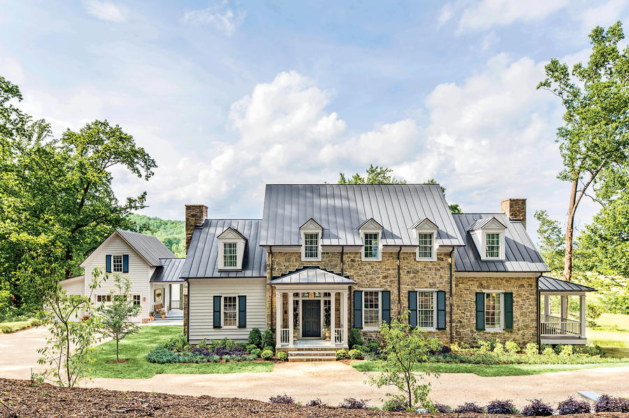 2015 idea house photo tour southern living for Virginia farmhouse plans