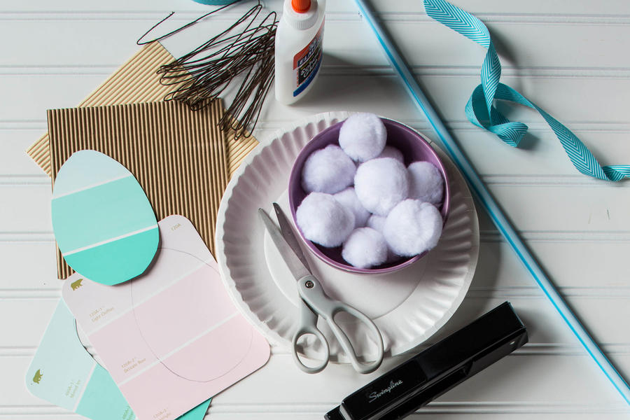 Easter Bunny Photo Prop Materials