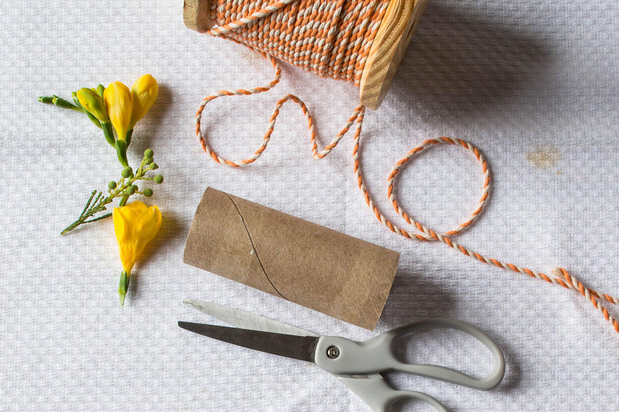 Easter Napkin Rings Materials