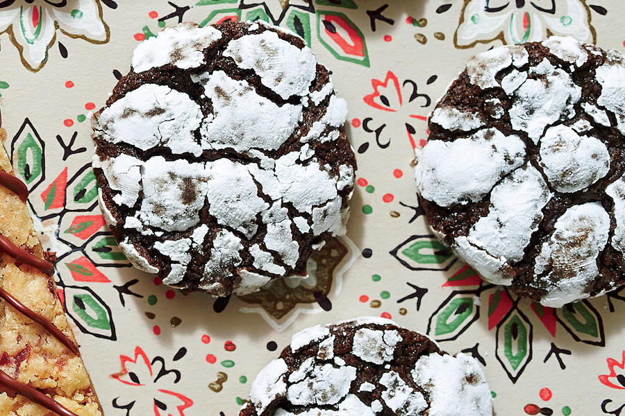 chocolate peppermint crackle cookies 2 43 recipe chocolate peppermint ...