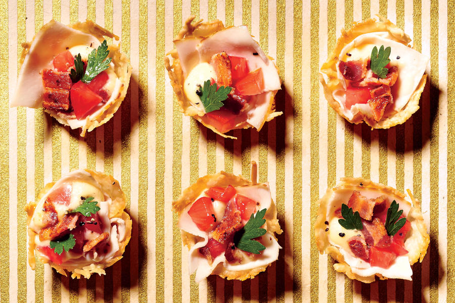 Inside-Out Hot Brown Bites