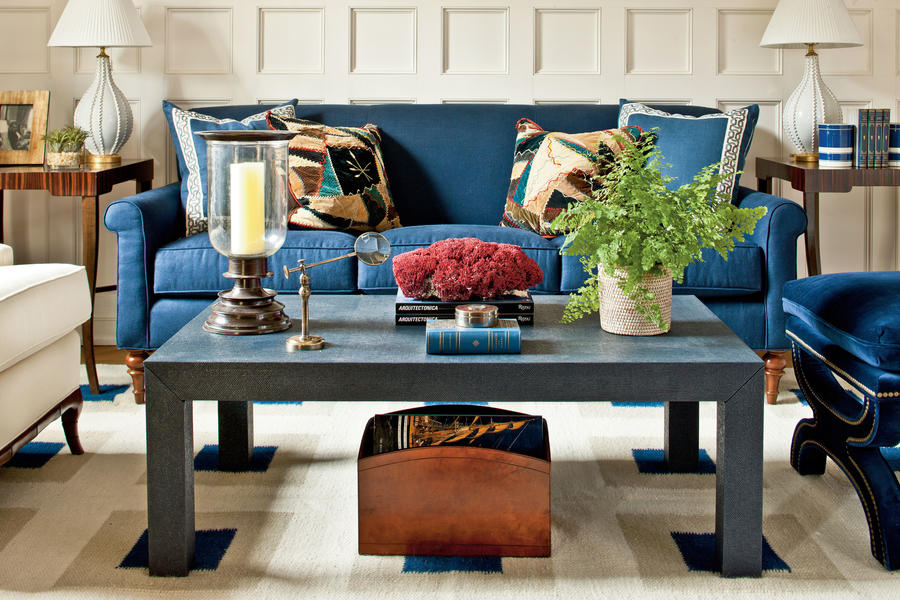 find your coffee table style see how decorating - How To Decorate A Coffee Table