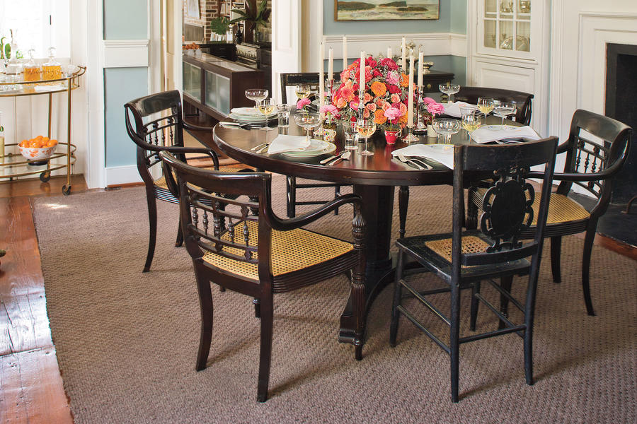 Try A Round Table Stylish Dining Room Decorating Ideas