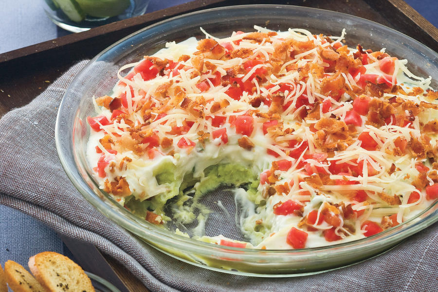 Layered Lima Bean Dip recipe