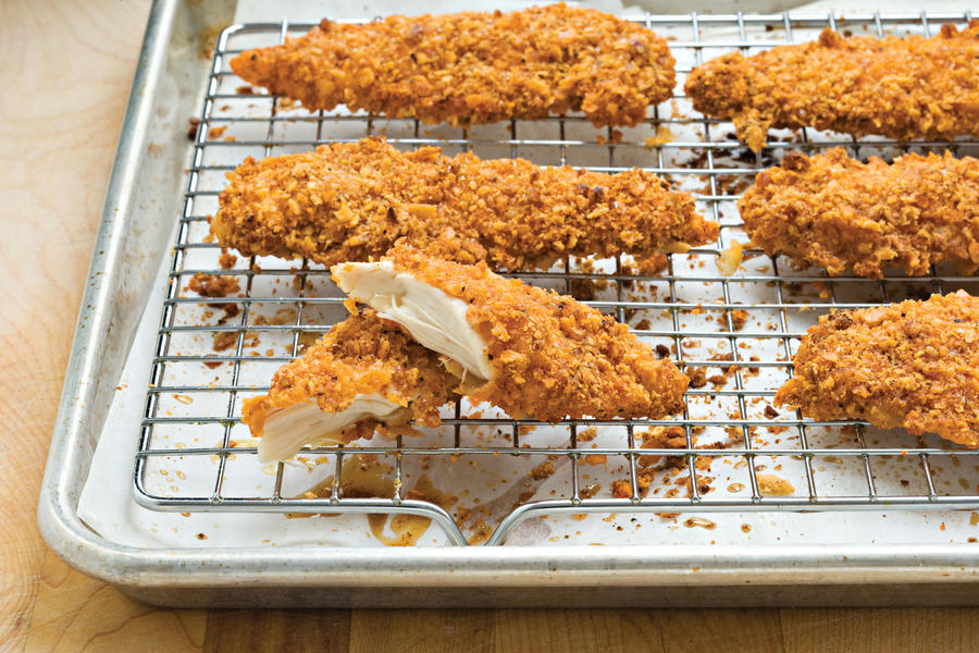 Kid-Friendly Chicken: Pecan-Crusted Chicken Tenders