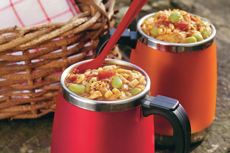 Chicken-and-Vegetable Stew - Easy Tailgating Recipe Ideas ...