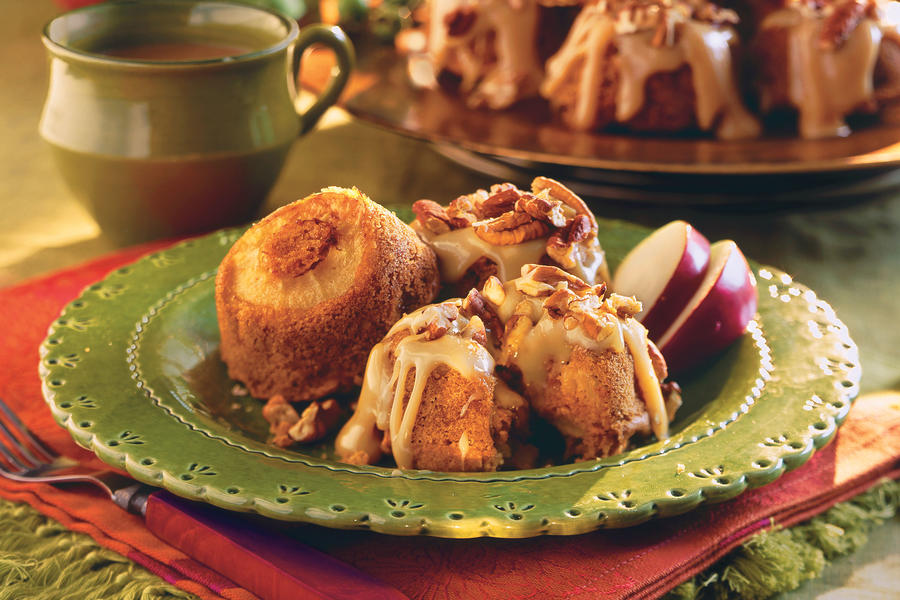 Caramel-Apple Muffins