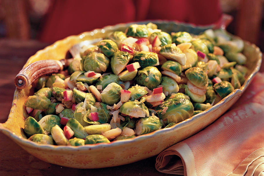 Brussels Sprouts with Apples