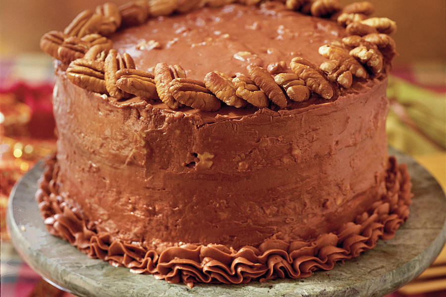 Chocolate Italian Cream Cake