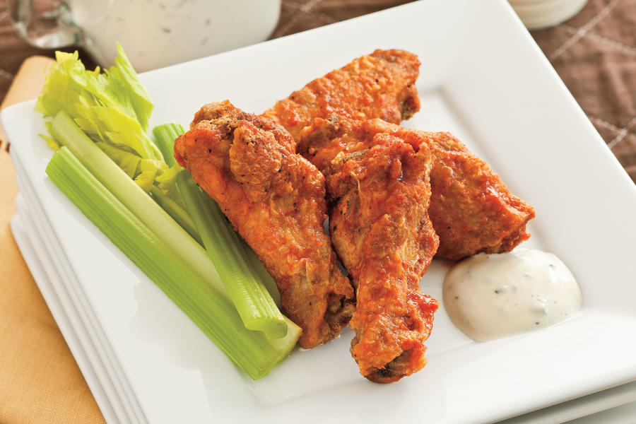 Angela's Spicy Buffalo Wings