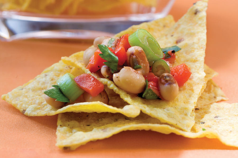 Red Pepper-Black-eyed Pea Salsa recipe
