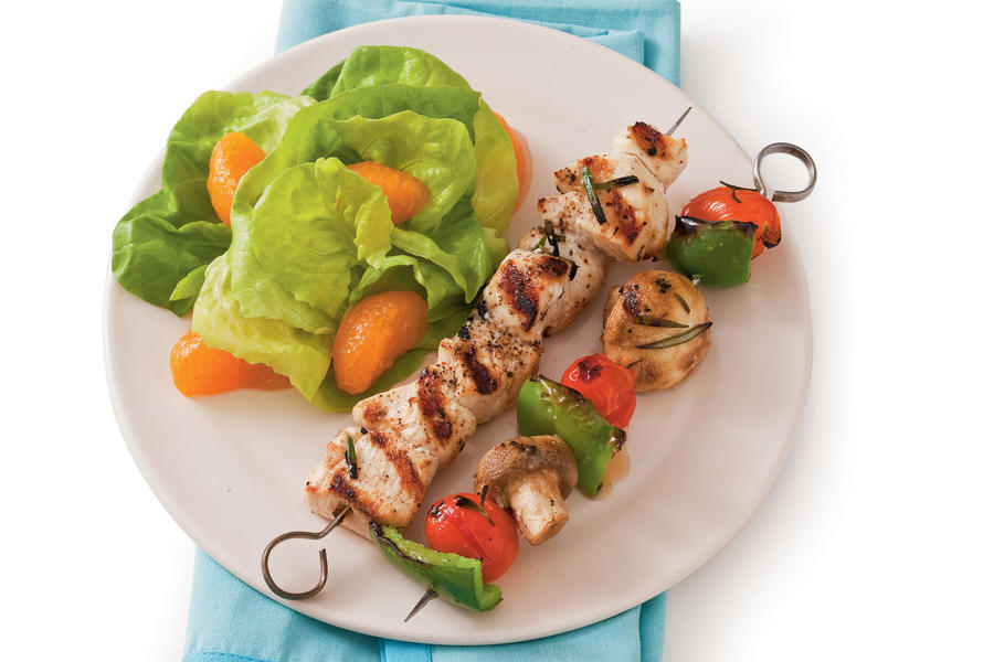 Rosemary Chicken Kabobs