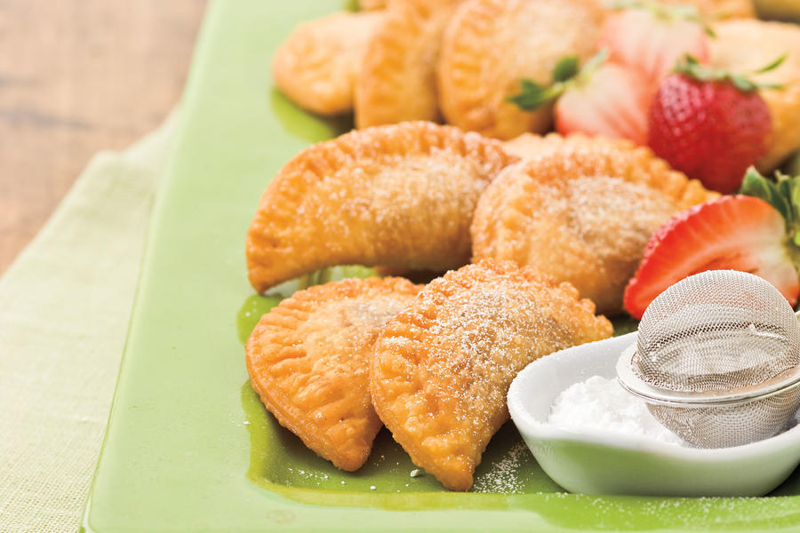 Fried Strawberry Pies