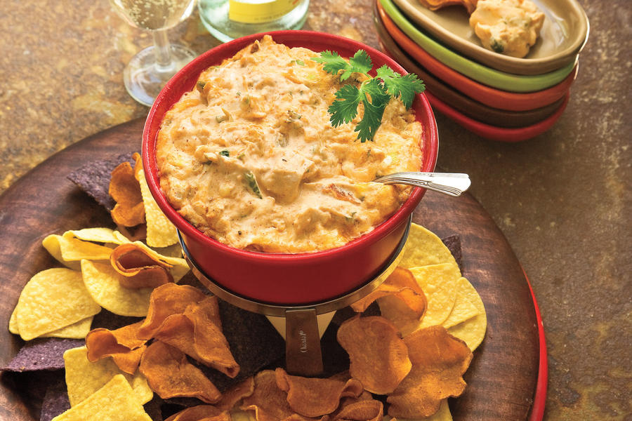 Colby-Pepper Jack Cheese Dip recipe