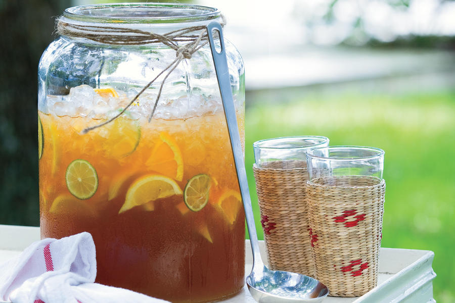 Refreshing teas and non alcoholic drinks southern living for Iced tea cocktail recipes
