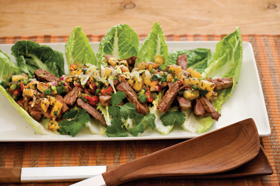 Main Dish Salad Recipes: Calypso Steak Salad