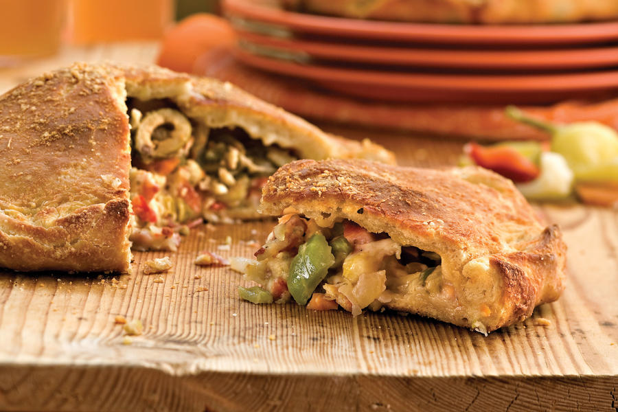 Cajun Recipes: Muffuletta Calzones