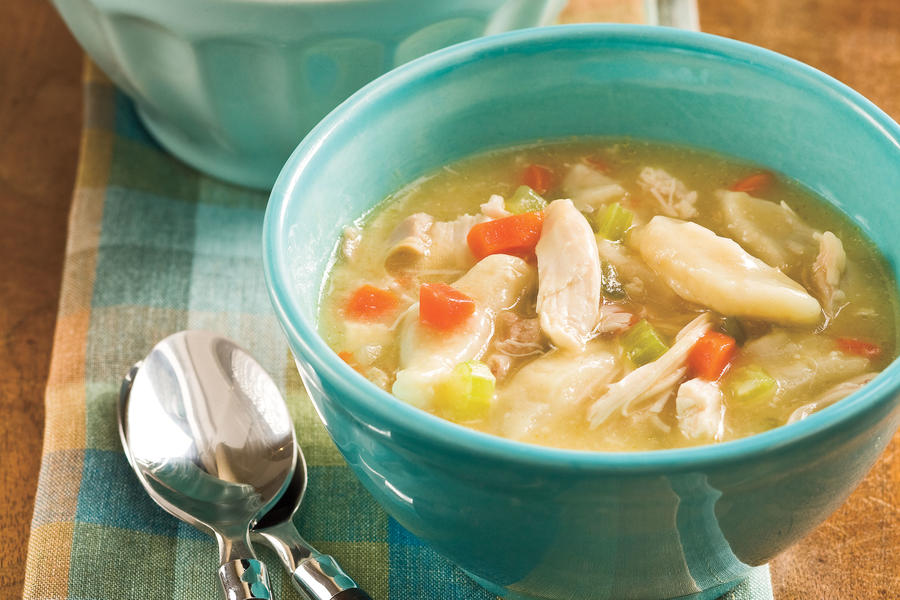 Easy Chicken And Dumplings Quick And Easy Soup And