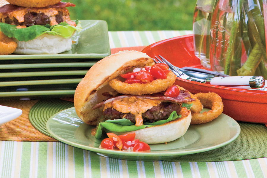 Mr. and Mrs. Wuf's Dixie Beef Burgers