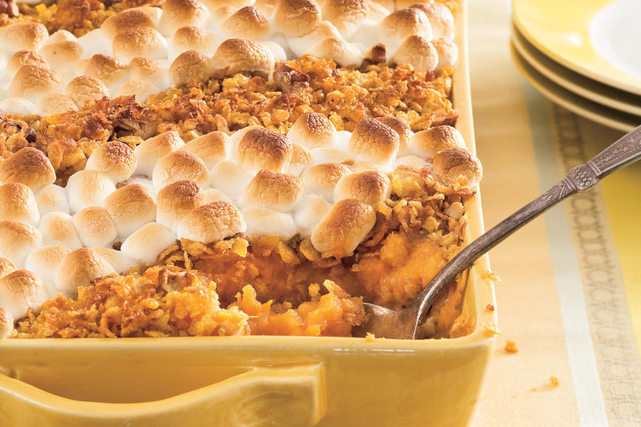 Thanksgiving Sides: Classic Sweet Potato Casserole