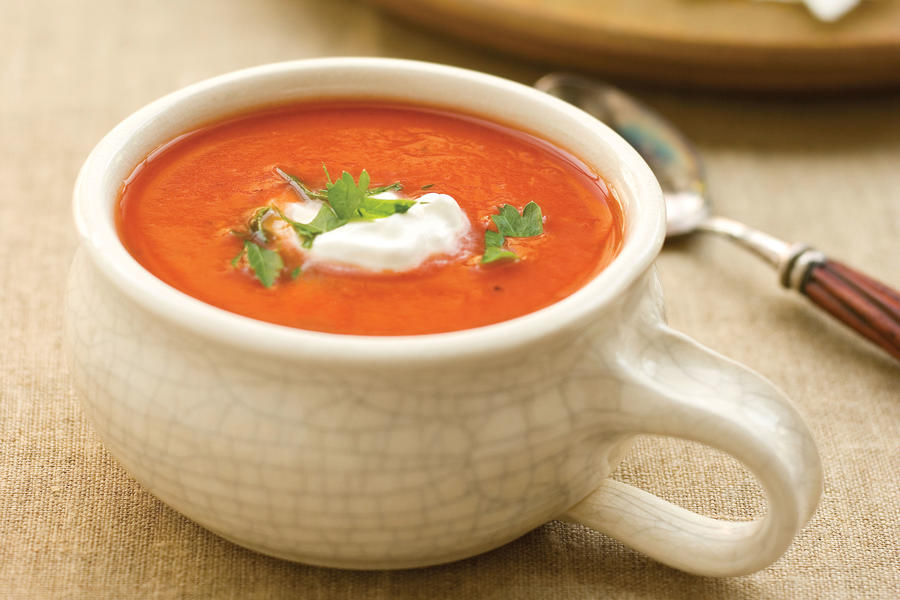 Soup Recipes: Dressed-up Tomato Soup