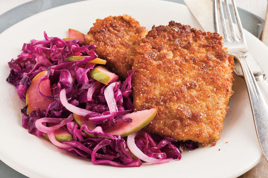 Recipes: Cumin-Crusted Pork Cutlets